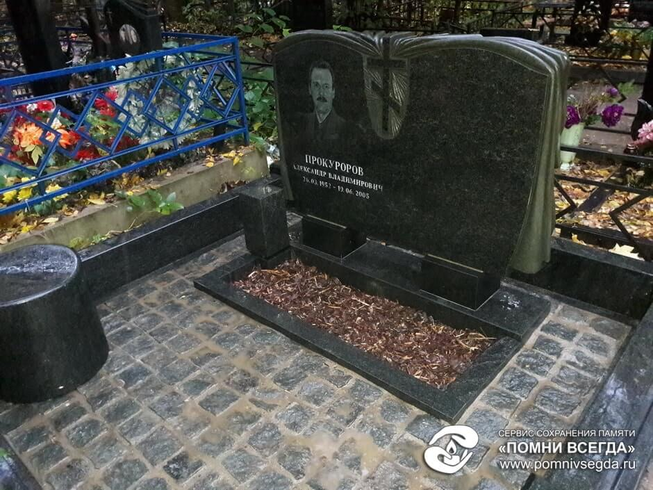 Цоколь из габбро-диабаза Камешково